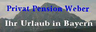 Privat-Pension-Weber